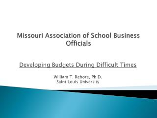 Missouri Association of School Business Officials