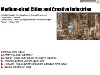 Medium-sized Cities and Creative Industries