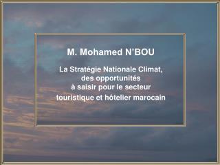 M. Mohamed N'BOU