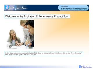 Welcome to the Aspiration E-Performance Product Tour