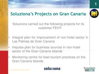 Soluziona ' s Projects on Gran Canaria