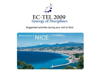 Suggested activities during your visit to Nice