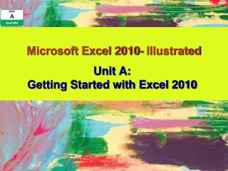 Microsoft Excel 2010- Illustrated