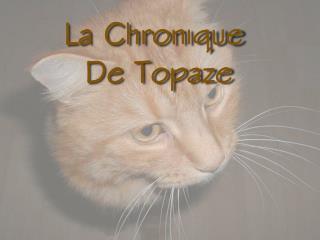 La Chronique  De Topaze