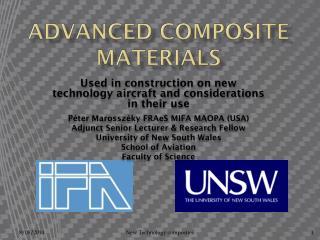 Advanced Composite materials