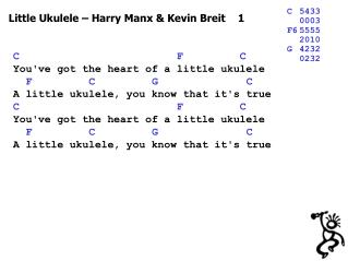 Little Ukulele – Harry Manx & Kevin Breit    1