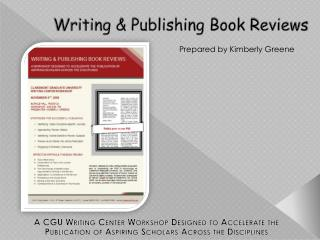 Writing & Publishing Book Reviews