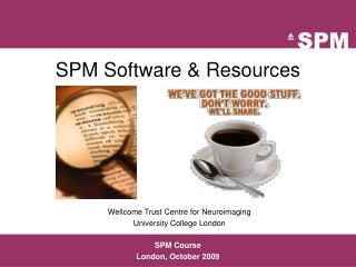 SPM Software & Resources