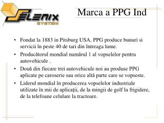 Marca a PPG Ind