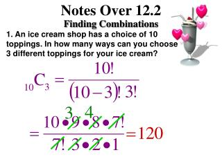 Notes Over 12.2