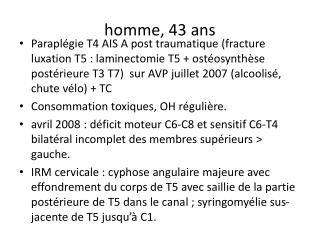 homme, 43 ans