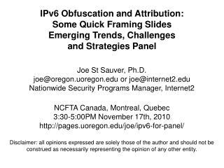 We Are Entering the IPv6 Era