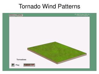 Tornado Wind Patterns