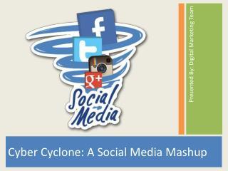 Cyber Cyclone: A Social Media Mashup
