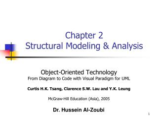 Chapter 2 Structural Modeling & Analysis