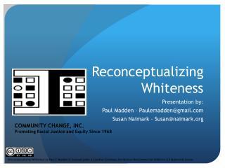 Reconceptualizing  Whiteness