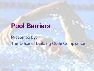 Pool Barriers