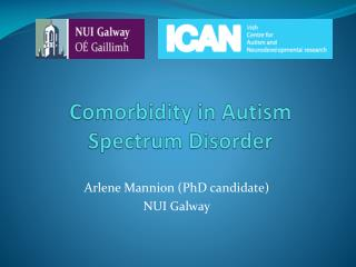Comorbidity  in Autism Spectrum Disorder