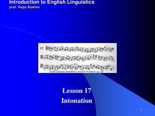2011-12 LINGUA INGLESE 1 modulo A/B Introduction to English Linguistics prof. Hugo Bowles