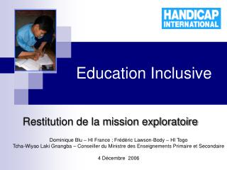 Education Inclusive