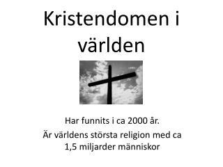 Kristendomen i världen