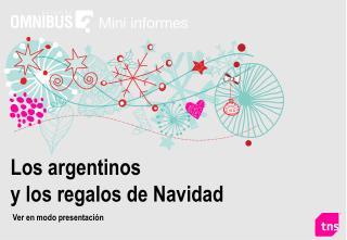 Los argentinos y los regalos de Navidad