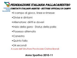 Anno Sportivo 2010-11