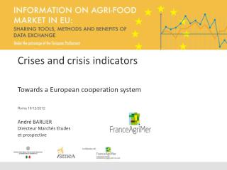 Crises and crisis indicators