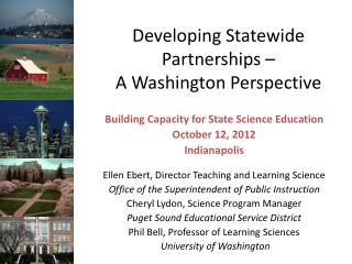 Developing Statewide Partnerships –  A Washington Perspective