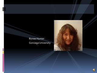 Ronee Hunter Gonzaga University