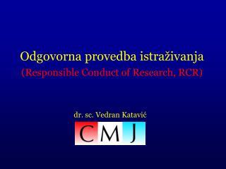 dr. sc. Vedran Katavi ć