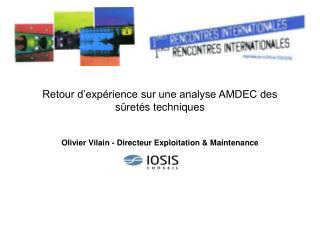 Retour d'expérience sur une analyse AMDEC des sûretés techniques