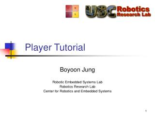 Player Tutorial
