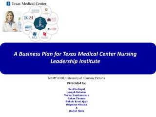 A Business Plan for Texas Medical Center Nursing Leadership Institute