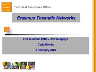 Erasmus Thematic Networks