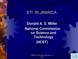 STI  IN JAMAICA