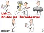 Unit 7: Kinetics and Thermodynamics