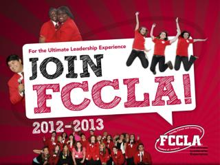 FCCLA Stands for…