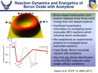 Reaction Dynamics and Energetics of Boron Oxide with Acetylene