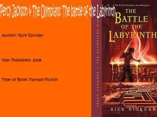 Author: Rick Riordan