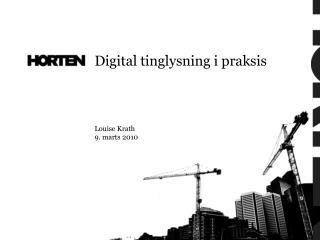 Louise Krath 9. marts 2010