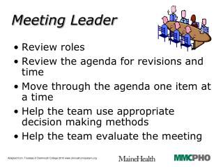 Meeting Leader
