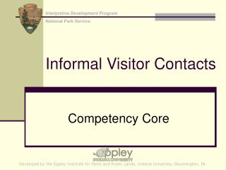 Informal Visitor Contacts