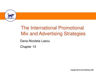 The International Promotional Mix and Advertising Strategies