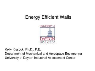 Energy Efficient Walls