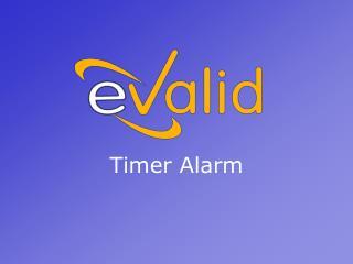 Timer Alarm
