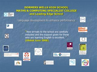 DORMERS WELLS HIGH SCHOOL MATHS & COMPUTING SPECIALIST COLLEGE and Leading Edge School