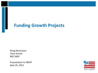 Funding Growth Projects