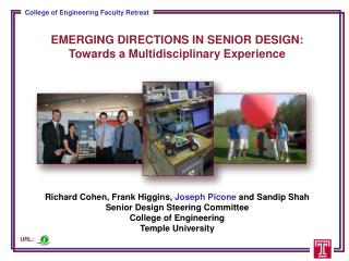EMERGING DIRECTIONS IN SENIOR DESIGN: Towards a Multidisciplinary Experience