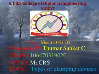 S.T.B.S College of Diploma Engineering,  SURAT